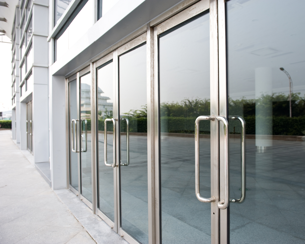 Storefront Windows And Doors commercial glass entry doors go frameless